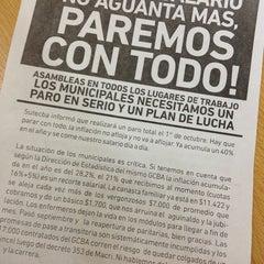 Photo taken at AGIP (Rentas GCBA) by Soledad V. on 10/1/2014