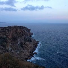 Photo taken at Ακρωτήρι Σουνίου (Cape Sounion) by Katya R. on 10/14/2012