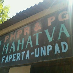 Photo taken at Sekretariat PMPR&PG Mahatva Faperta Unpad by Lutfhi C. on 9/8/2013