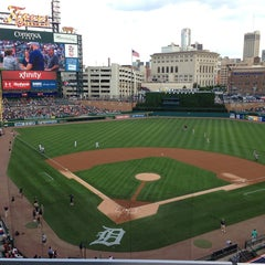 Photo taken at Comerica Park by Ray V. on 6/17/2013
