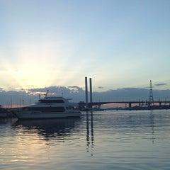 Photo taken at Watermark Docklands by mei mei on 2/8/2014