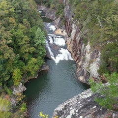 Photo taken at Tallulah Gorge State Park by Craig P. on 10/7/2012