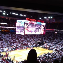 Photo taken at Toyota Center by Bill L. on 4/28/2013