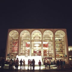 Photo taken at Lincoln Center Plaza (Josie Robertson Plaza) by Camilla C. on 6/16/2013