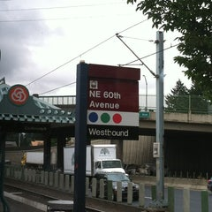 Photo taken at TriMet NE 60th Ave MAX Station by Patrick B. on 8/2/2013