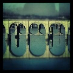 Photo taken at John Harris Bridge by Em K. on 1/6/2013