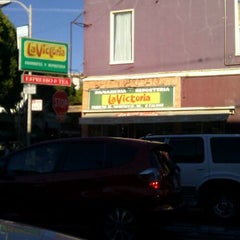 Photo taken at La Victoria Mexican Bakery & Cafe by Kety on 9/21/2012
