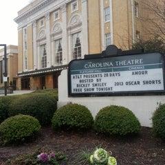 Photo taken at Carolina Theatre Of Durham by Corvida R. on 2/14/2013