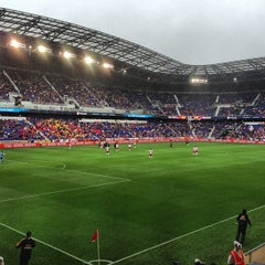 Photo taken at Red Bull Arena by Brian on 5/19/2013