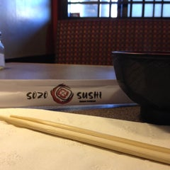 Photo taken at Sozo Sushi by MiniME on 11/24/2013