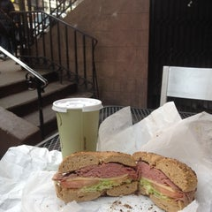 Photo taken at Montague Street Bagels by Michael D. on 12/2/2012