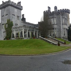 Photo taken at Dromoland Castle Hotel by Anna G. on 3/23/2013