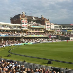 Photo taken at The Kia Oval by Peter S. on 6/25/2013