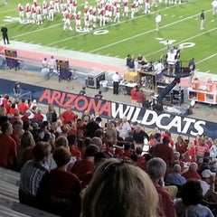 Photo taken at Arizona Stadium by Laurie J. W. on 10/21/2012