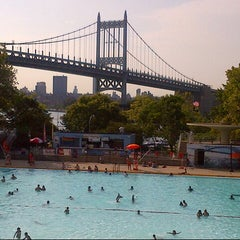Photo taken at Astoria Park Pool by s28 on 8/21/2014