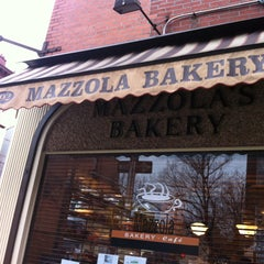 Photo taken at Mazzola Bakery by Sabrina D. on 3/19/2013