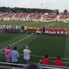 Photo taken at Maryland SoccerPlex by J-J M. on 8/10/2013