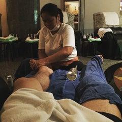 Photo taken at Sabai Thai massage by Monchai T. on 6/12/2015