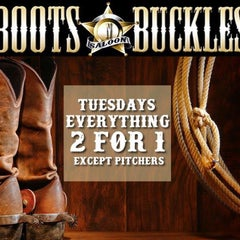 Photo taken at Boots N Buckles Saloon by DJ Kyle D. on 6/23/2015