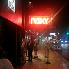Photo taken at The Roxy by Marc N. on 7/27/2013