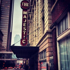 Photo taken at Majestic Theatre by Jordan C. on 10/10/2012