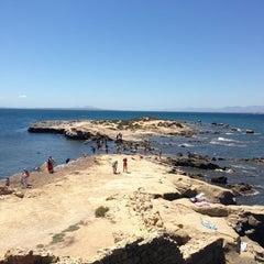 Photo taken at Illa Tabarca | Isla de Tabarca by Denis K. on 7/30/2013