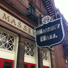 Photo taken at Massey Hall by Takeda K. on 10/16/2012