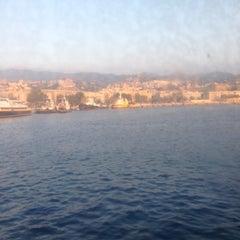 Photo taken at Porto di Messina by Massimo L. on 8/24/2013