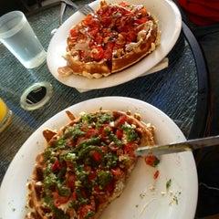 Photo taken at Waffle Era Tea Room by Noel D. on 5/27/2013