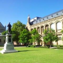 Photo taken at The University of Adelaide by Marco M. on 2/11/2013
