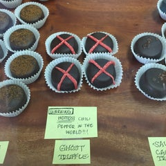 Photo taken at Kauai Chocolate Company by Brent S. on 6/2/2015