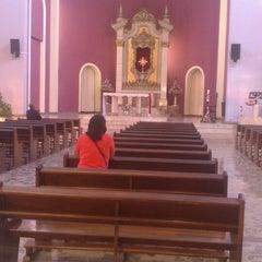 Photo taken at Templo Votivo do Santíssimo Sacramento by Daniel A. on 4/30/2014