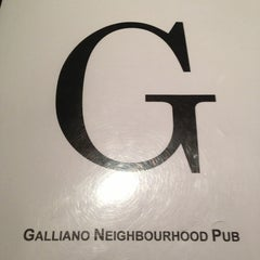 Photo taken at Galliano's Neighbourhood Pub by Jason T. on 1/22/2013
