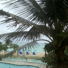 Photo taken at DoubleTree by Hilton Ocean Point Resort & Spa - North Miami Beach by Sarah B. on 1/19/2013