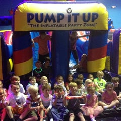 Photo taken at Pump It Up by Mary B. on 3/26/2014