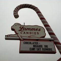 Photo taken at Lammes Candies by Jennifer H. on 2/9/2013
