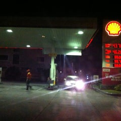 Photo taken at Shell Gasoline Station (Kimco Village) by Darwin G. on 10/21/2012