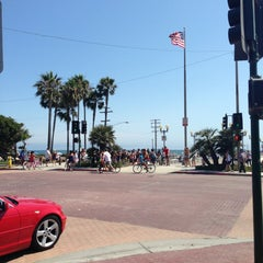 Photo taken at Seal Beach by Begum S. on 7/4/2013