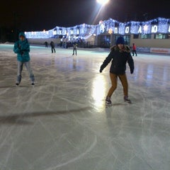 "Photo taken at Каток ""Южный полюс-Лужники"" by Marinita F. on 12/30/2012"