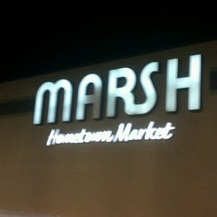 Photo taken at Marsh Supermarket by Dave R. on 12/24/2012