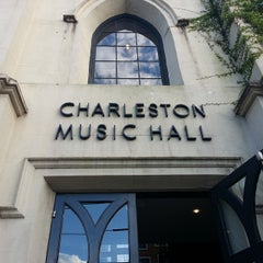 Photo taken at Charleston Music Hall by Rob P. on 6/4/2015