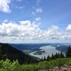Photo taken at Angels Rest by Nathan H. on 5/25/2013