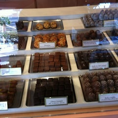Photo taken at Teuscher Chocolates & Cafe by George K. on 10/28/2012