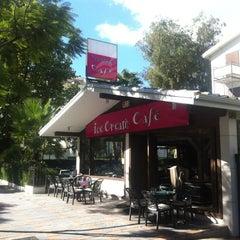 Photo taken at Baskin Café by Naga S. on 10/27/2012