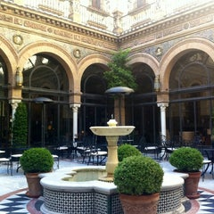 Photo taken at Hotel Alfonso XIII by vassia👣 on 10/23/2012