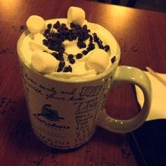 Photo taken at Caribou Coffee by iAbdulrahmn on 2/3/2013