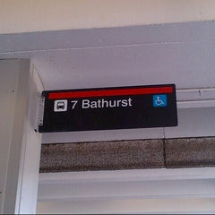 Photo taken at Bathurst Subway Station by Guido D. on 8/22/2013