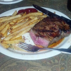 Photo taken at Ye Olde Steak House by Chuck D. on 9/29/2012