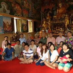 Photo taken at วัดนครป่าหมาก (Wat Nakorn Pa Mak) by Kalayanee D. on 4/7/2013