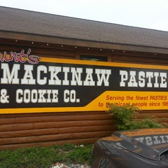 Photo taken at Mackinaw Pastie & Cookie Co. by Nicole B. on 7/27/2013